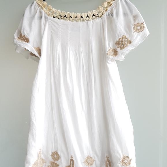 Costa Blanca Crochet dress